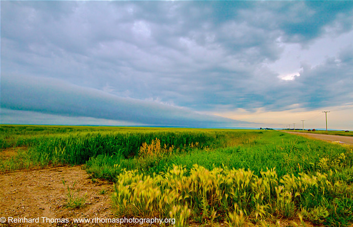 Prairie sky by Reinhard Thomas ©